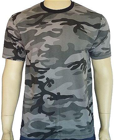Camiseta Camuflada Urbano 100% Algodão