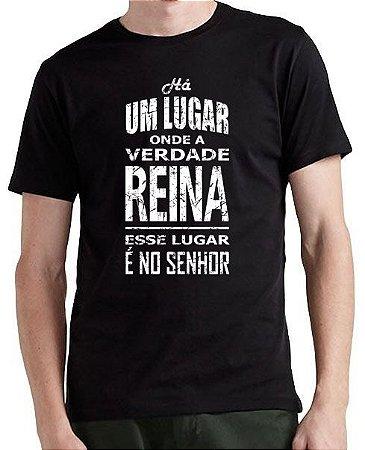 Camiseta Um lugar onde a Verdade Reina