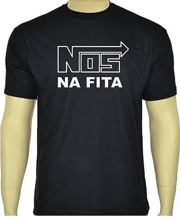 Camiseta divertida Nos na Fita
