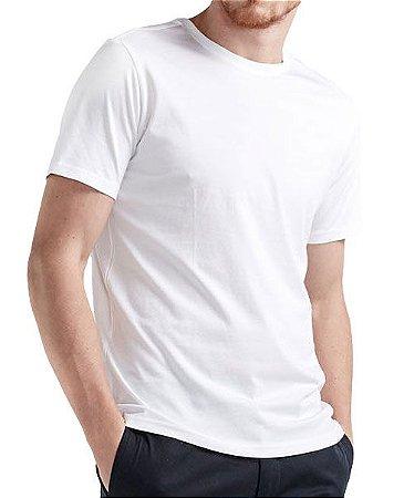Camiseta Branca lisa - SeisBrasil - Loja 1a5c78ec0a697