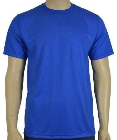 Camiseta Azul Royal Lisa