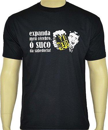 Camiseta divertida Suco da Sabedoria