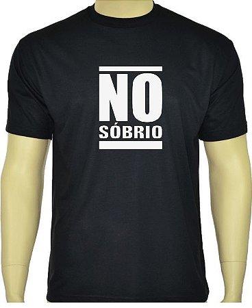 Camiseta Divertida NO SÓBRIO.