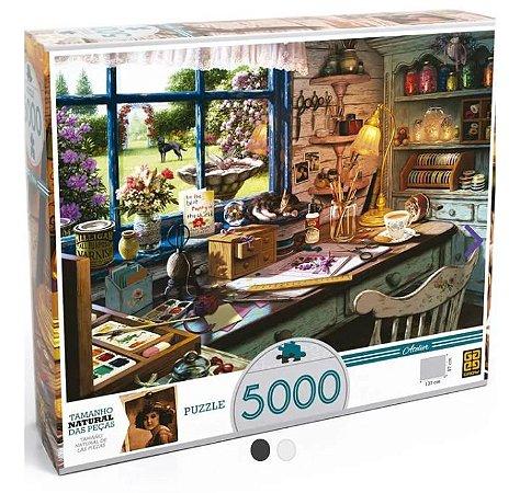 Quebra-Cabeça - 5000 Peças - Ateliê