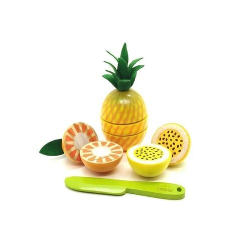 Kit Frutinhas Com Corte Abacaxi, laranja E Maracujá