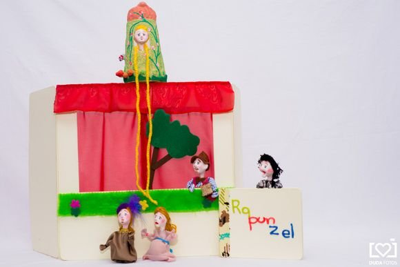 Kit Palquinho Rapunzel
