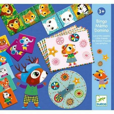 Super Set Bingo, Memória e Dominó Djeco