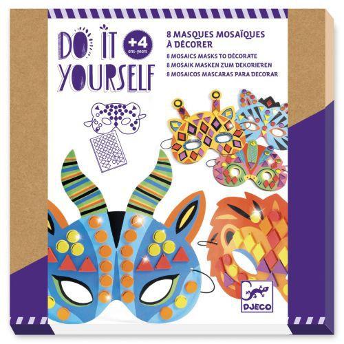 Faça Você Mesmo - Máscaras Animais