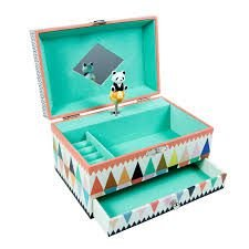 Caixa de Música e Relíquias Panda - Djeco
