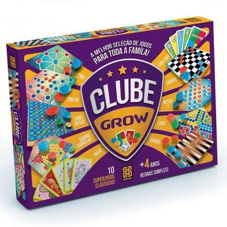 Clube Grow Vários Jogos Reunidos