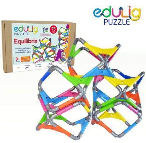 Edulig Puzzle 3D Equilibrix 75 peças