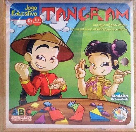 Tangram Com 70 Peças