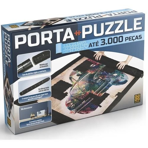 Porta-puzzle Quebra Cabeça Até 3000 Peças