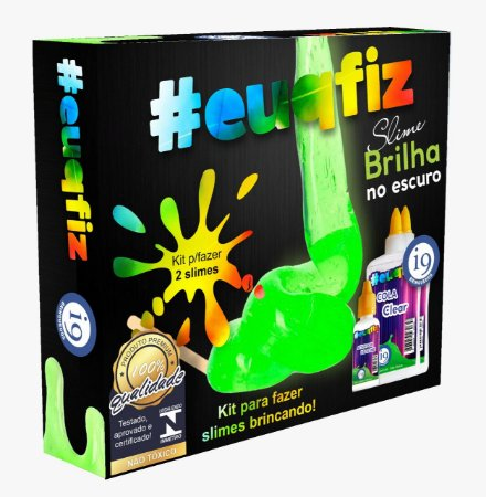 Fábrica de Slime Brilha no Escuro Kit 2
