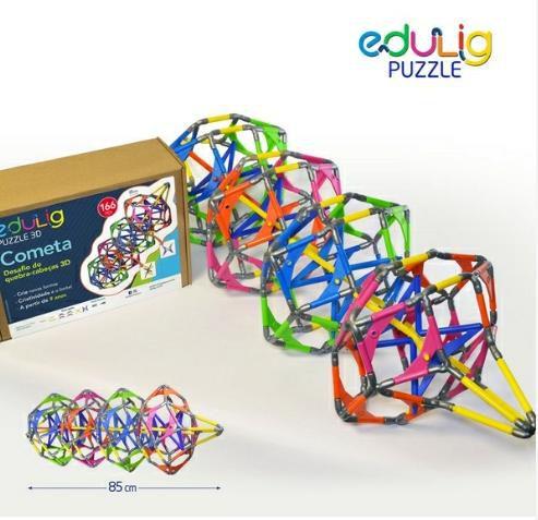 Edulig Puzzle 3D Cometa 166 Peças