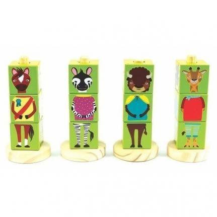 Cubos Animais Verde