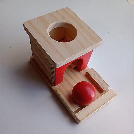 Caixa de Permanência em Madeira Montessori