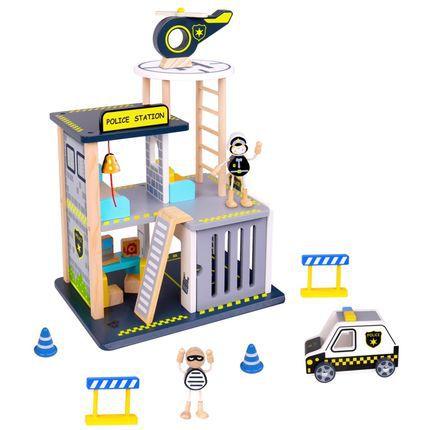 Estação De Polícia Com Acessórios