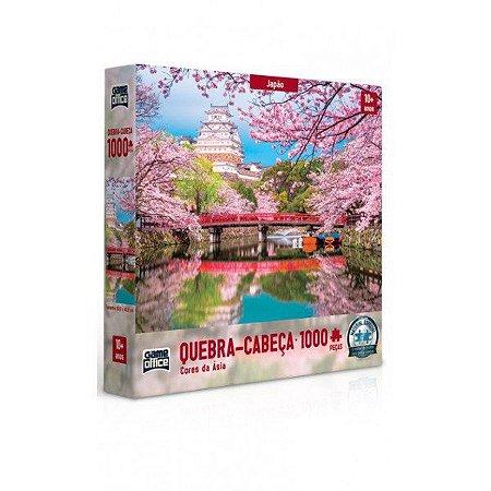 Quebra-Cabeça 1000 Peças Cores Da Ásia Japão