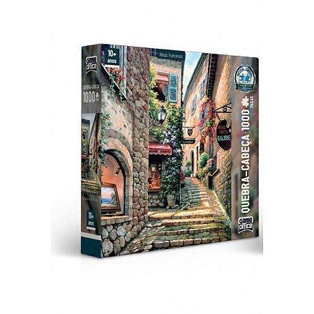 Quebra-Cabeça 1000 Peças Vielas Francesas Escada