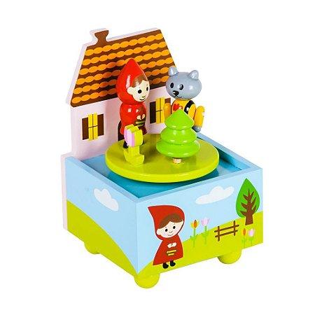 Caixa de Musica Chapeuzinho Vermelho