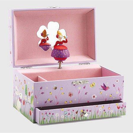 Caixa de Música Princesa e Pássaro - Djeco