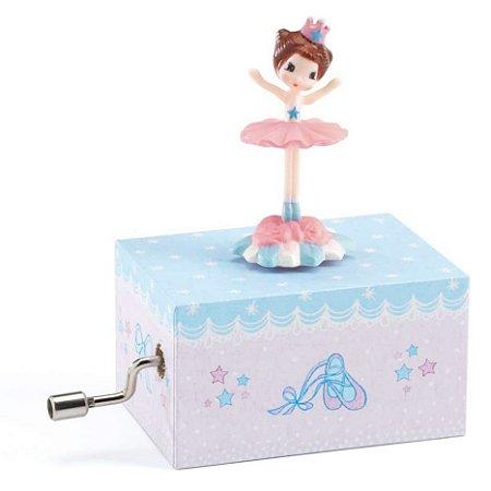 Mini Caixa de Música a Manivela Bailarina - Djeco
