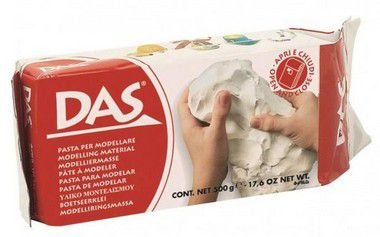 Massa Biscuit De Porcelana Fria Das Branca 500grs
