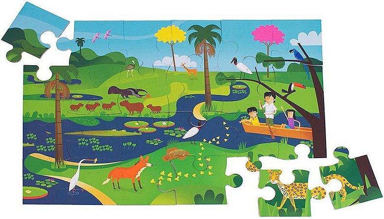Quebra-Cabeça  Bichos do Pantanal