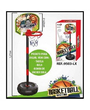 Jogo Basketball Cesta e Bola