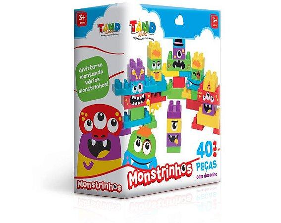 Tand Kids Monstrinhos 40 peças