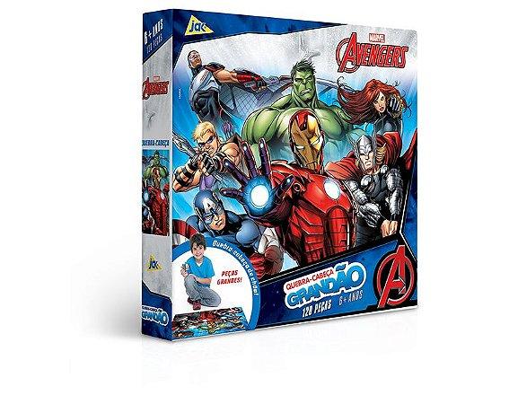 Quebra-cabeça 120 peças Grandão Os Vingadores