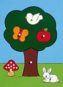 Quebra Cabeça Pinos - Árvore