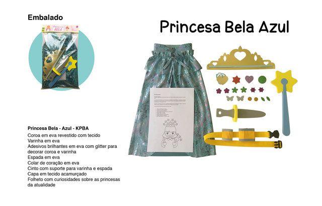 Princesa Bela Azul