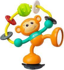 Brinquedo Interativo Macaco com Sucçao na Base