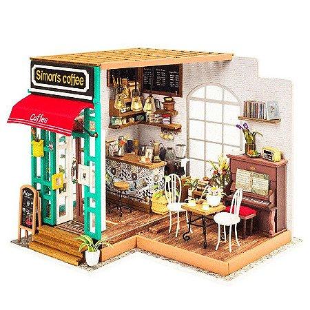 Diy Miniature House Cafeteira