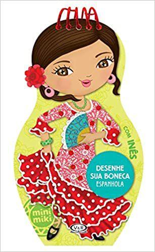 Desenhe sua Boneca Espanhola