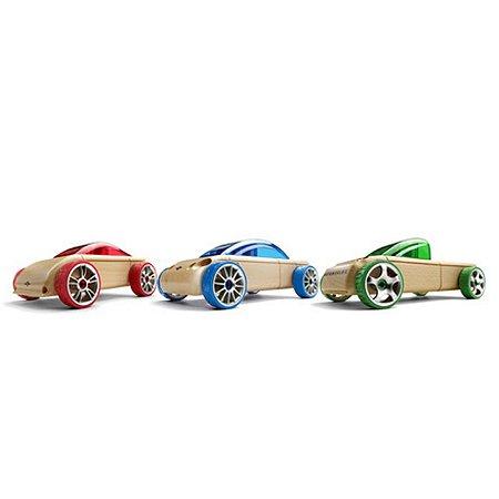 Kit com 3 Carros Mini: S9/C9/T9