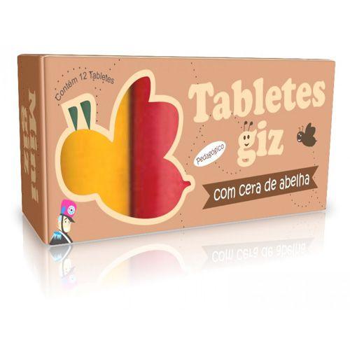 Tabletes Giz de Cera com 12 Cores