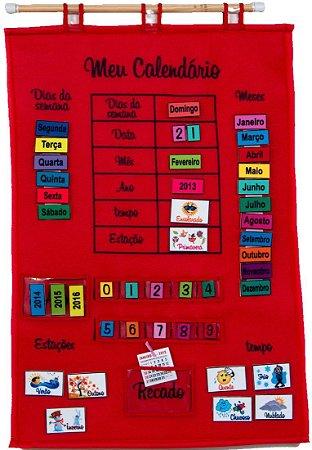 Meu Calendário Educativo em Português