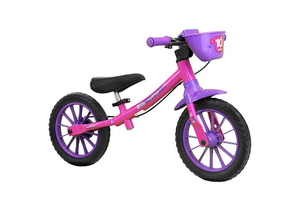 Bicicleta Balance Aro 12 Rosa