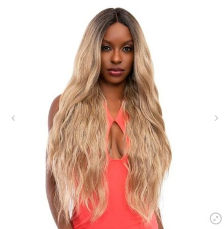 LANÇAMENTO - Peruca Lace front wig ondulada 70cm MILAH