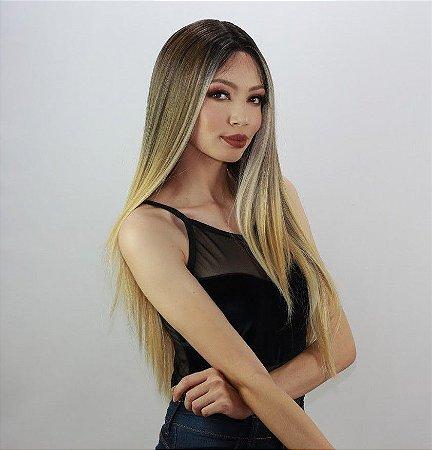 LANÇAMENTO - Peruca lace front wig 65cm - NAOMI