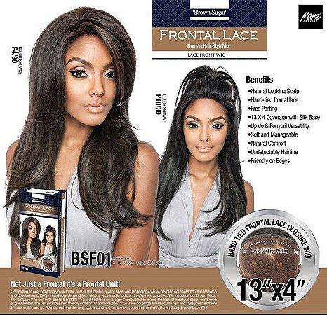 PRÉ VENDA PREÇO ESPECIAL  Lace front wig BSF01