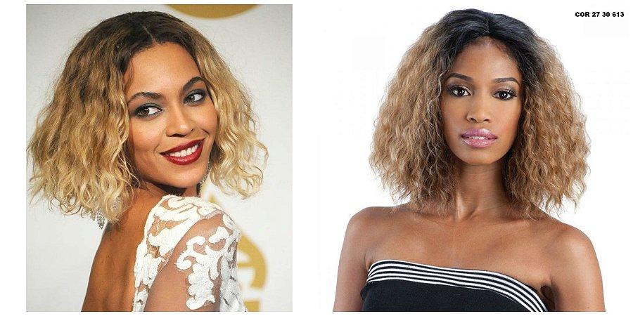 Lace front wig  Beyoncé inspiration - Modelo 04  textura frizada - chanel  - Encomenda