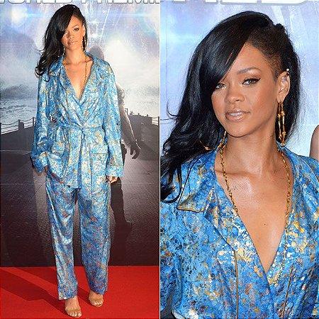 Wig corte SideCut - Inspiração Rihanna  - Varias cores - ENCOMENDA