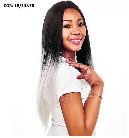 Wig peruca lisa longa 60cm  -  Ombre hair -  Varias cores - LYA  -  Encomenda