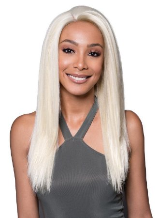 Lace Front Wig Inspirada em Pabllo Vittar - Corte long Lisa - 45cm - Varias cores - ENCOMENDA