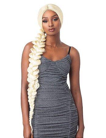 Peruca lace front wig DIAMANTE - 1 metro - Repartição ao meio - ENCOMENDA
