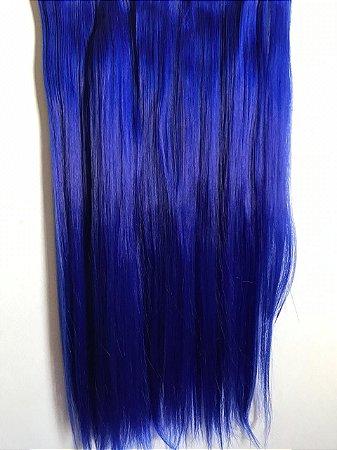 Aplique tic tac liso azul bic 60cm